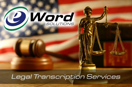 legal transcriptions services